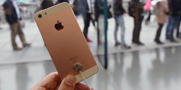 Hier ist das iPhone SE am günstigsten