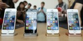 Apple trotzt der iPhone-Talfahrt