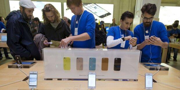 Mega-Run auf iPhone 5S und iPhone 5C