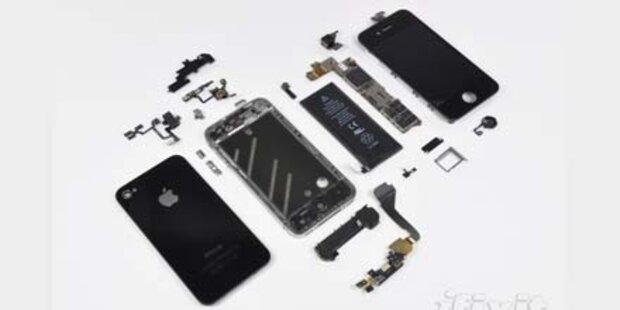 Das iPhone 4 kostet Apple 187 Dollar
