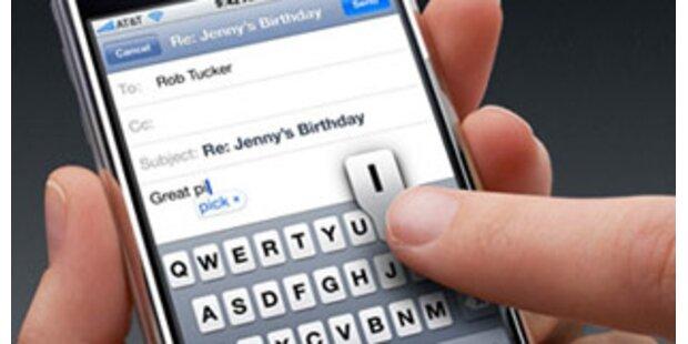 Apple erhält Patent für iPhone Touchbedienung