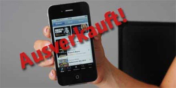 iPhone 4-Käufer brauchen jetzt Geduld