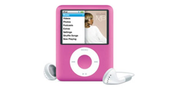iPod nano jetzt auch in Pink