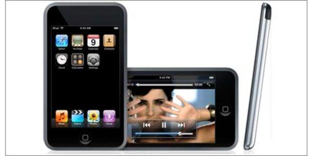 Mittwochabend könnten neue iPods kommen