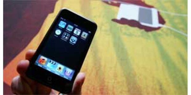 Apple stellt neue iPods vor