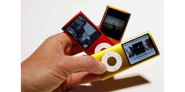 So sehen die neuen iPod nanos aus!