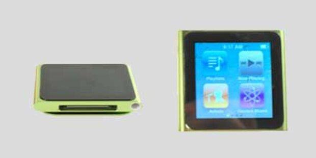 Der neue iPod nano (2010) im Test