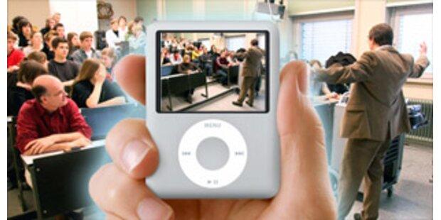 Uni-Vorlesungen auf dem iPod