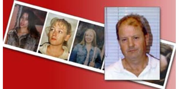 Ipswich-Mörder ließ Opfer in Kruzifix-Form liegen
