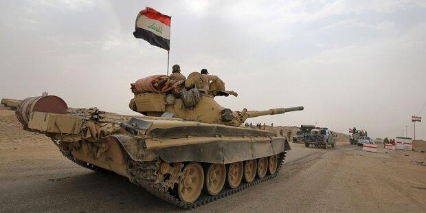 Irakische Armee startet Offensive auf IS-Hochburg
