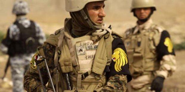 USA wollen wie geplant Irak verlassen