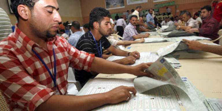 Bagdad: Ergebnis wird geprüft