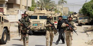 Bombenanschlag in Cafe in Bagdad