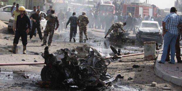 Bombenserie im Irak: Über 90 Tote