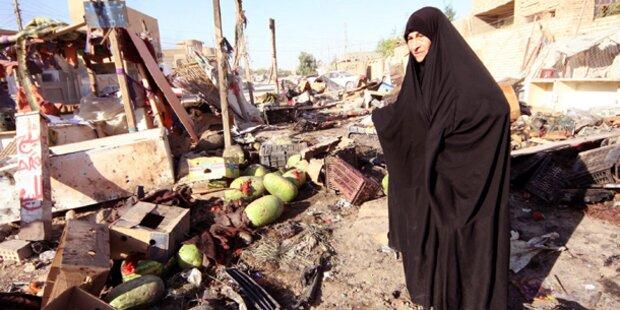 Al-Kaida bekennt sich zu Terror im Irak