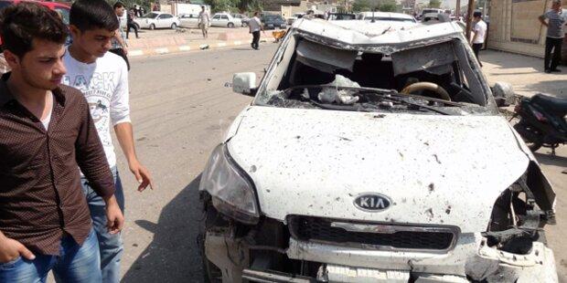 Vier Autobomben erschüttern Erbil