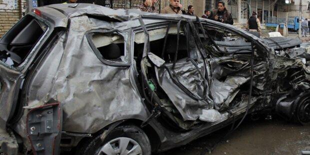 Autobombe: Mindestens 30 Tote im Irak