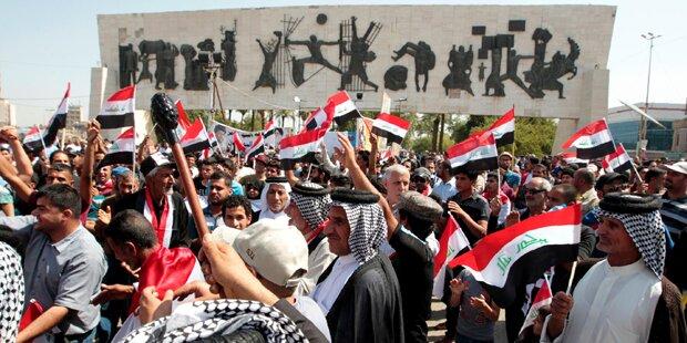 Irak stürzt tiefer in die Regierungskrise