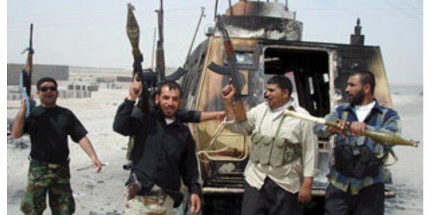 Mehr als 100 Tote nach tagelangen Kämpfe im Irak