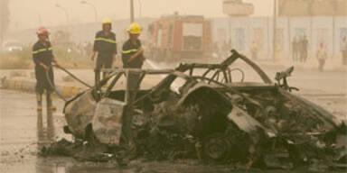 Anschläge auf Polizeikonvois im Irak