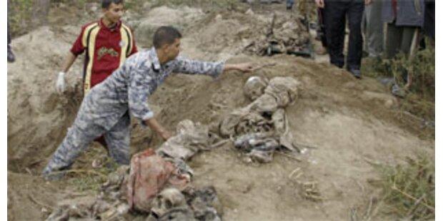 Massengrab im Irak mit 33 Leichen entdeckt