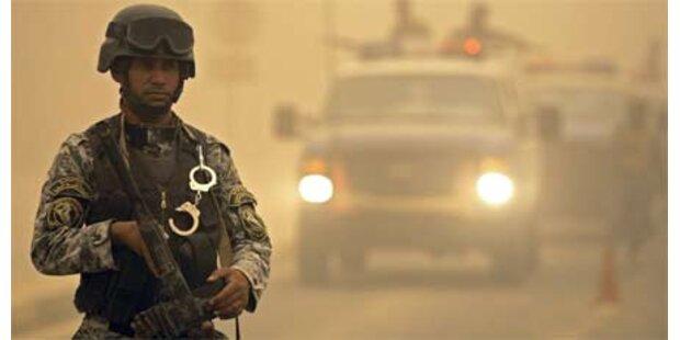 Jagd auf Terroristen im Irak