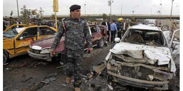 Serie von Explosionen erschüttert Bagdad