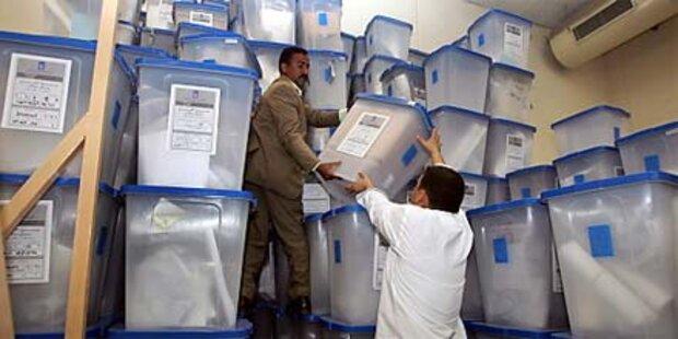 Streit um Wahlfälschungen im Irak