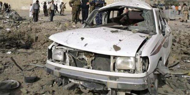 Bomben-Terror im Irak geht weiter