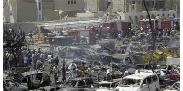 Fast 100 Tote bei Anschlagsserie im Irak