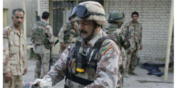 16 Polizei-Anwärter im Irak getötet