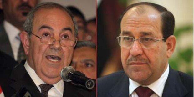 Kopf-an-Kopf-Rennen im Irak