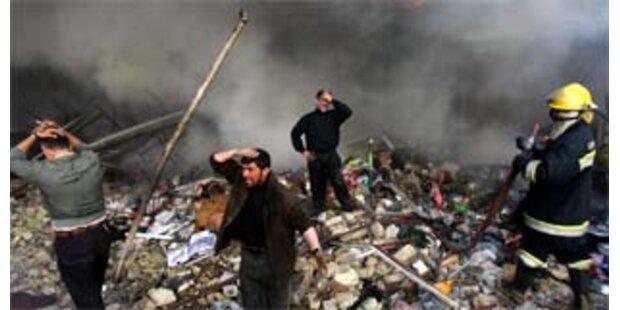 Drei Autobombenanschläge im Irak