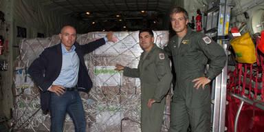 Österreich startet Irak-Hilfslieferungen