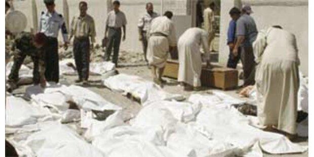 Anschlagserie im Nordirak mit etwa 40 Toten