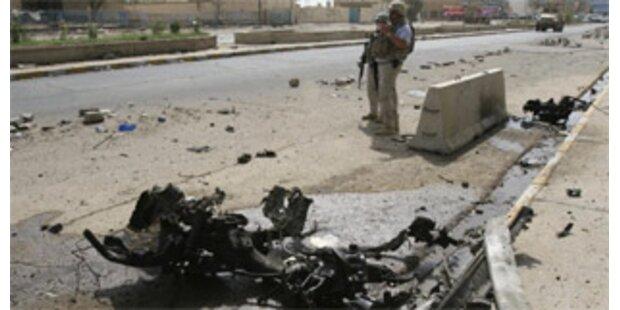35 Polizisten im Irak getötet