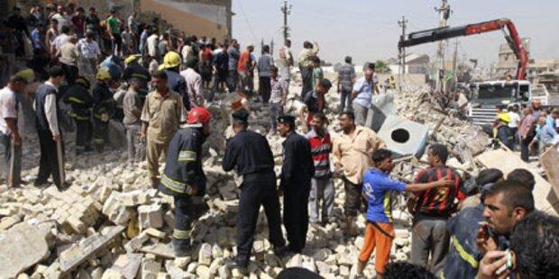 Mehrere Bomben detonieren in Bagdad