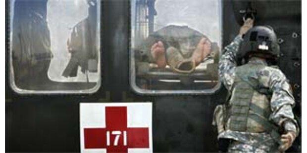 Iraker stellt sich Selbstmordkommando in den Weg
