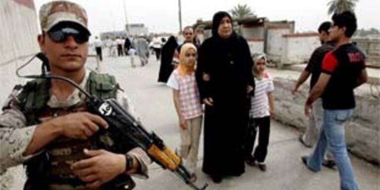 Ein Unfall mit einer Waffe verletzte einen jungen Iraker. Archivbild.