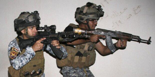 Geiselnahme in Bagdad blutig beendet