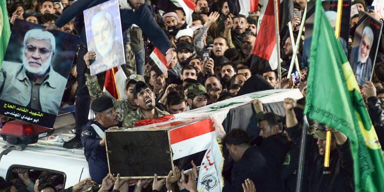"""Iran stuft US-Truppen als """"Terroristen"""" ein"""