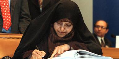 Irans Vizepräsidentin an Covid-19 erkrankt