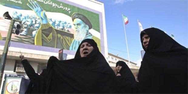 Ein Toter bei Demonstrationen in Teheran