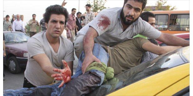Ein Toter bei Krawallen in Teheran