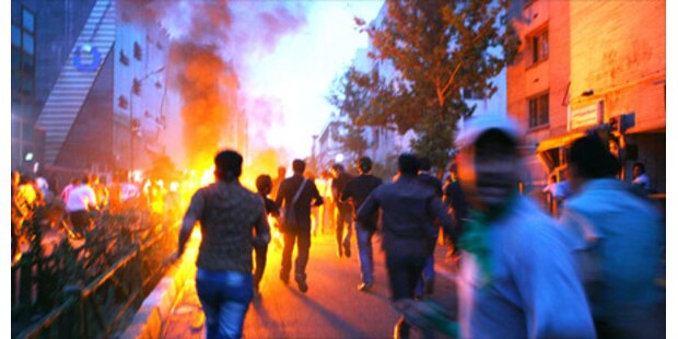 Erneut Massenproteste in Teheran