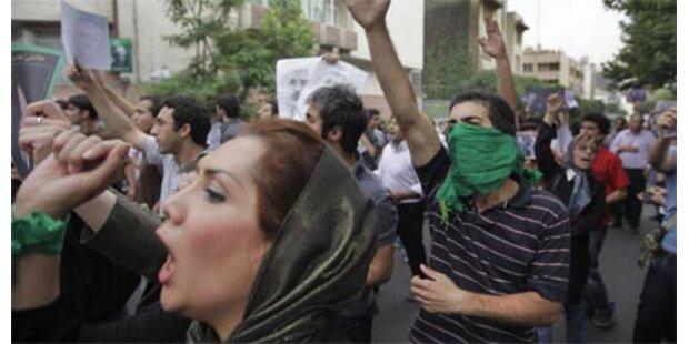 Schon bis zu 43 Tote im Iran