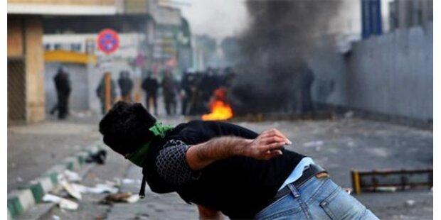 Wieder Zusammenstöße in Teheran
