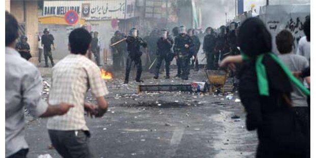 69 Tote seit Beginn der Unruhen im Iran