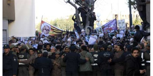 Heftige Zusammenstöße im Iran