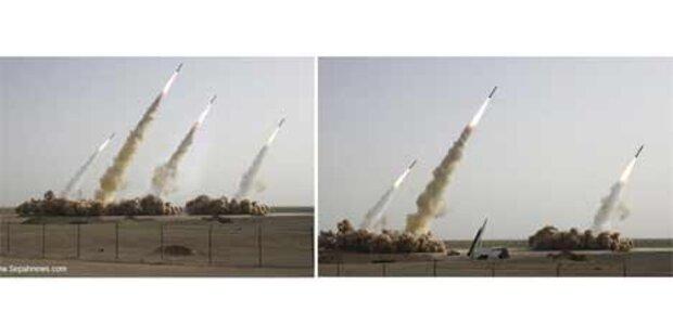 Iran schoss nur Trägerrakete ab